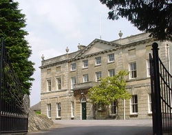 View of the front of Kingshill House